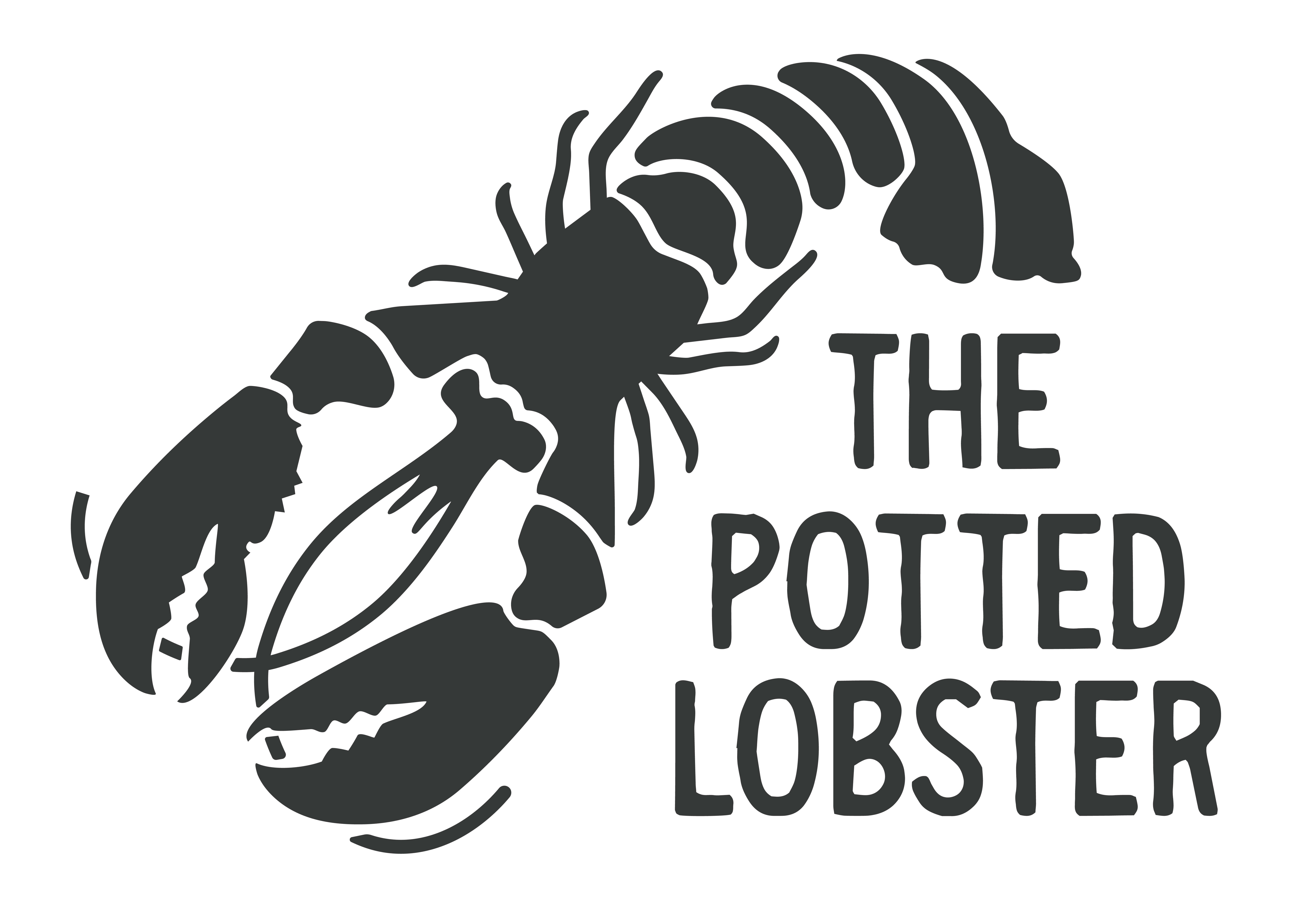 The Potted Lobster Bamburgh Logo